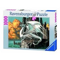 Rompecabezas Ravensburger 1000 Piezas Dragon Blanco 15696