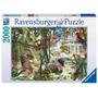 Rompecabezas Ravensburger 2000 Piezas La Selva Animales