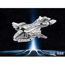 Nave Pelicano Halo Metal Earth Fascinations Rompecabezas 3d