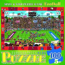Jigsaw Puzzle - Spot Y Encuentra Fútbol 100 Piezas