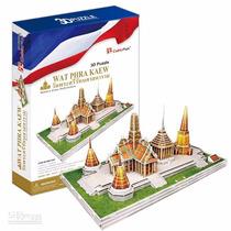 Rompecabezas 3d Cubicfun Templo Del Buda De Esmeralda Rusia