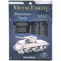Tanque Sherman Rompecabezas 3d Fascinations Metal Earth