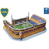 Rompecabezas 3d Nanostad Estadio La Bombonera Boca Juniors