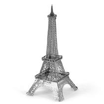 Rompecabezas Mini 3d Metalico Genial Torre Eiffel