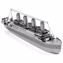 Barco Titanic Rompecabezas 3d Fascinations Metal Earth