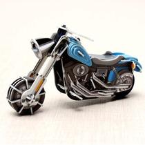 Juguete Armable De Moto De Carretera Con Motor De Cuerda