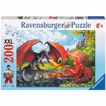 Rompecabezas Ravensburger 200 Piezas Duelo De Dragones 12708