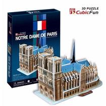Rompecabezas 3d Cubicfun Catedral Notre Dame Paris Francia