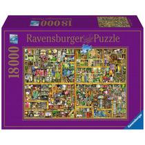 Puzzle Ravensburger 18000 Piezas Biblioteca Libros 17825