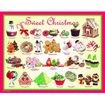 Jigsaw Puzzle - Dulce Navidad 100 Piezas Eurographics Mini
