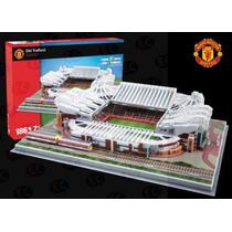 03705 Estadio Old Trafford Manchester United Fc 3d Nanostad