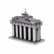 Rompecabezas Miniatura 3d Metálico Puerta De Brandenburgo
