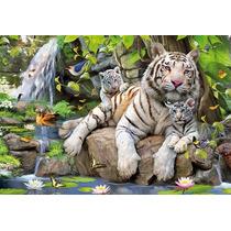 Rompecabezas Educa 1000 Piezas Tigres De Bengala 14808 Games