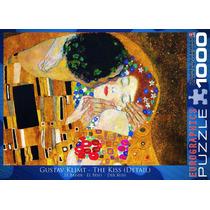 Jigsaw Puzzle - El Beso (detalle) Por Gustavo Klimt 1000