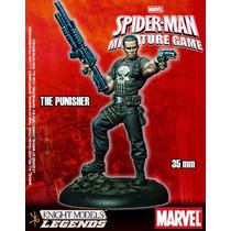 Punisher Figura Para Armar 35mm, Knight Models. Marvel Game