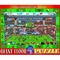Jigsaw Puzzle - Spot Y Encuentra Soccer 48 Piezas Eurographi