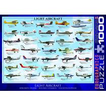 Jigsaw Puzzle - Aviones Ligeros 1000 Piezas Eurographics