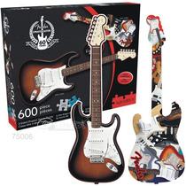 Aquarius Rompecabezas Guitarra Elect. 2 Vistas Fender 600 Pz