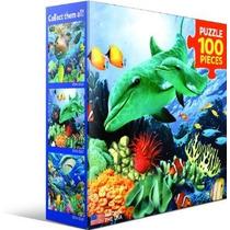Jigsaw Puzzle - Color Coral 100 Piezas Eurographics Mini