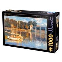 Jigsaw Puzzle - D-juguetes Claude Monet El Puente En
