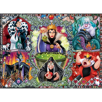Puzzle Ravensburger 1000 Piezas Brujas Cuentos De Disney