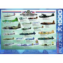 Jigsaw Puzzle - Bombarderos Comando Aéreo Aliado Segunda Gu