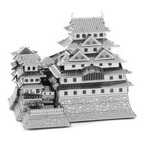 Castillo Himeji Japones Rompecabezas 3d Metal Puzzle