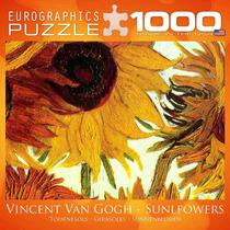 Jigsaw Puzzle - Doce Girasoles De Vincent Van Gogh 1000