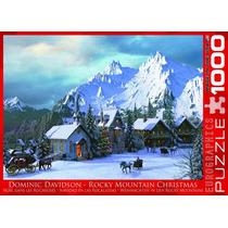 Jigsaw Puzzle - Rocky Mountain Navidad 1000 Pedazo