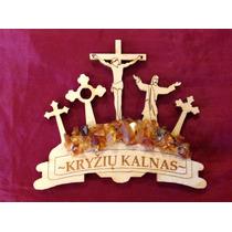 Imán De Colección, Colina De Las Cruces, Lituania, Cristo