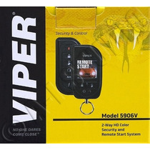 Tm Alarma Viper 5906v Color Remote Start & Security