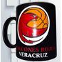 Taza Grabada Halcones Rojos De Veracruz