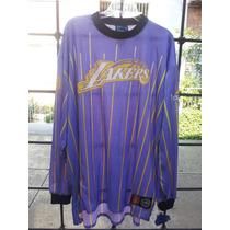 Nba Chamarra Unk La Lakers Retro Talla Xl 2012kobelebron Flr