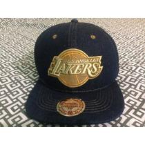Gorra Nba Los Angeles Lakers Mitchell&ness (ajustable)
