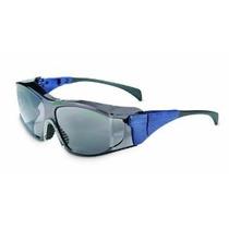 Uvex S3162 Ambient Otg Seguridad Eyewear Medio Azul Marco Es