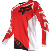 Jersey Fox 180 Race Rojo Talla L Motocross Downhill Atv