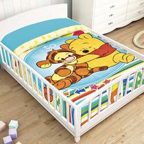 Pooh Y Tigger Frazada Cunero Cobertor Bebe Ligero 1.10* 90