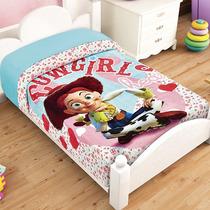 Jessie Toy Story Frazada Cunero Cobertor Bebe Ligero 1.10*90
