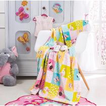 Cobertor Ligero Para Cuna Arcoiris Bebe Niña Vianney
