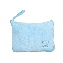 Kit Bebe Frazada 0 A 12 Meses-azul Cobija Baby Mink