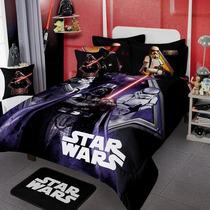 Star Wars Darth Edredon Colcha Ninos 6pc Guerra Galaxias Ind