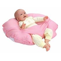 Almohada Leachco Cuddle-u Nursing Para Bebes Rosa O Verde