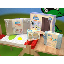 Kit Bebe Baby Travel Azul Unico Bm Baby Shower Baby Mink
