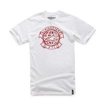 Alpinestars Garabato Camiseta Blanca Lg