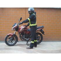 Arnés Chaleco Reflejante Ciclista Motociclista Neon