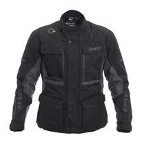 Tb Chamarra Para Motocicleta Axo Cayman Jacket (black, Small