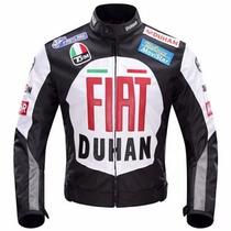 Chamarra Motociclismo Protecciones Duhan Fiat D082