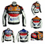 Chamarra Motociclismo Protecciones Duhan Repsol Vs02 Piel