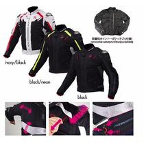 Chamarra Motociclismo Protecciones Komine Jk 063 Goretex