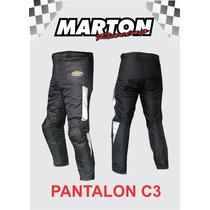 Envio Gratis.pantalon C3 Para Motociclista Con Protecciones
